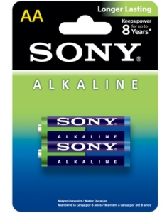 Alkaline Blue AA size 2-pc Blister pack