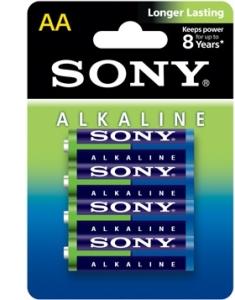 Alkaline Blue AA Size 4-pc Blister pack