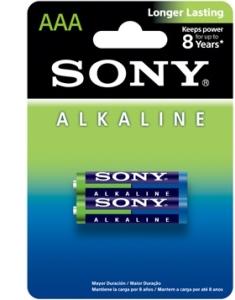 Alkaline Blue AAA Size 2-pc Blister pack