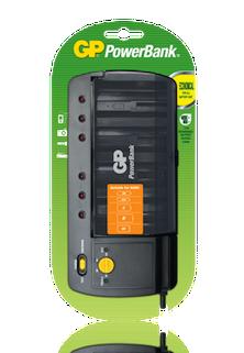 GP PowerBank PB320 Battery Charger