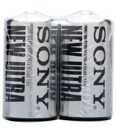 Sony C size battery Carbon Zinc New Ultra batteries