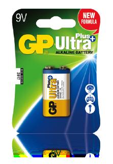 GP Ultra Plus Alkaline 9V