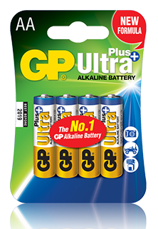 GP Ultra Plus Alkaline AA