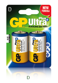 GP Ultra Plus Alkaline D