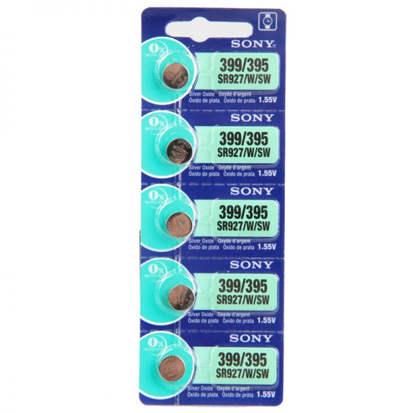 Sony 399/395 SR927 Watch Battery – Made in Japan Button Cell Batteries