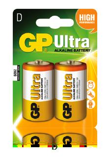 GP Ultra Alkaline D
