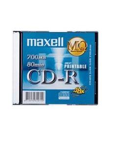 Maxell CD-R 700MB MQ 48X (Printable Disc)