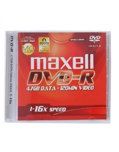 Maxell DVD-R 4.7GB 16X