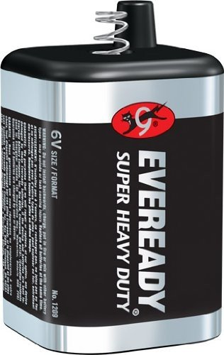 Eveready 1209SW1 6V Super Heavy Duty Lantern Battery