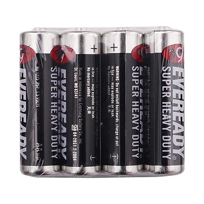 EVEREADY® Super Heavy Duty Batteries AA 4 piece Pack