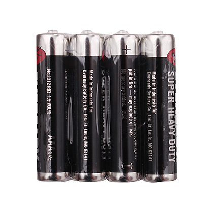 EVEREADY® Super Heavy Duty Batteries AAA 4 piece Pack